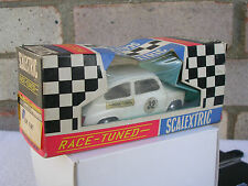 "VINTAGE TRI-ANG SCALEXTRIC C99 ""RACE TUNED"" FIAT 600:WHITE:BOXED:GORGEOUS!!!"