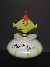 Vintage Holt-Howard Pixieware Mustard/Condiment Jar (1958/Japan)