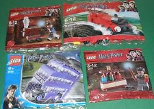 4x Lego Harry Potter! Hogwarts Express , Knight Bus und Harry Potter mit Zubehör