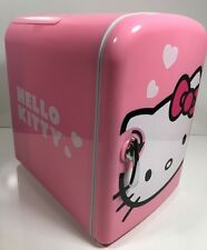 Hello Kitty Mini Refrigerator Pink Fridge ACDc Compact 6 Can Cooler/warm