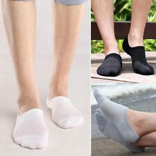 3Pairs Men/Women Bamboo Ankle Invisible Loafer Boat Liner Low Cut No Show Socks