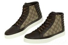 NEW GUCCI SUPREME GG GUCCISSIMA HIGH TOP LACE-UP SNEAKERS SHOES 9 G/US 10