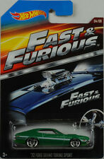 Movie Fast & Furious  72 Ford Gran Torino Sport 1:64 Hot Wheels USA