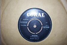 BUDDY HOLLY,  WISHING,  CORAL RECORDS 1963