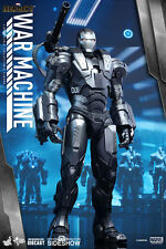 HOT TOYS MARVEL IRON MAN 2 WAR MACHINE DIECAST 1:6 FIGURE ~Sealed in Brown Box~