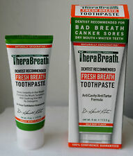 TheraBreath Toothpaste Fresh Breath Mouth Smell 4Oz 113.5gr Bad Breath Mild Mint
