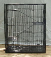 NEW Large 4 level Ferret Chinchilla Sugar Glider Mice Rat Cage 404 Black 222