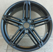 "18"" Wheels For Audi A3 A4 VW CC Jetta MK5 MK6 18x8.0 +45 Black Rims Set of 4"