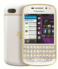 BlackBerry Q10 GOLD EDITION   Dual Core   2GB+16GB   8MP+2MP  