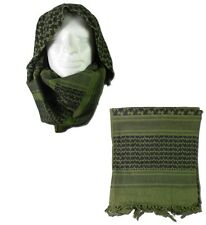 SCIARPA KEFIAH SHEMAG SOFTAIR  OD / NERO TOP FLY GEAR TFG 2501  AIRSOFT SCARF