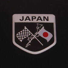 Car Japan JPN JAP JP Flag Emblem Fender Boby Rear Badge Motorsport Sticker Decal