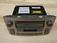 TOYOTA AVENSIS T25 2003-2008 CD RADIO CASSETE STEREO HEAD UNIT 86120-05080