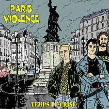PARIS VIOLENCE Temps de crise 1st LP 3x gatefold 2xcoloured LP ltd 300 rare oi!