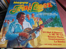 Trini Lopez: Happy: VINILE LP MADE in Germany: 1980: K-Tel: if I Had A Hammer