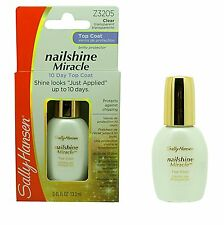 Sally Hansen~10 Day Nailshine Miracle Top Coat Shine & Protect conditioner Z3205