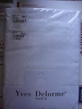 $480 Queen Duvet  Yves Delorme Antique Blanc 100% Egyptian Cotton NEW Mad FRANCE