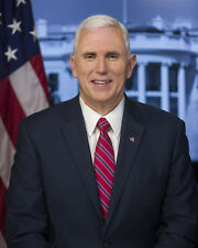 OFFICIAL PORTRAIT OF VICE PRESIDENT MIKE PENCE 8X10 PHOTO
