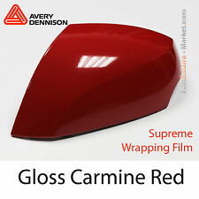 20x30cm FILM Gloss Carmine Red Avery Dennison Supreme Wrapping Cover - CB1650001
