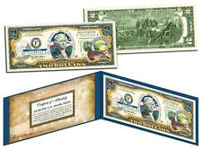 ALASKA Statehood $2 Two-Dollar Colorized US Bill AK State *Genuine Legal Tender*