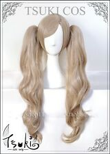 Persona P5 Takamaki Ann Double Pony Tail Cosplay Wig With Hairnet
