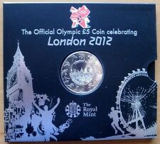 2012 LONDON OLYMPIC GAMES OFFICIAL £5 COIN -GREAT BRITAIN - ROYAL MINT
