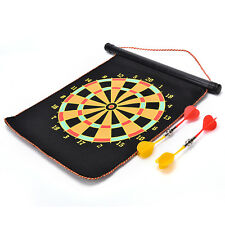 12 Double-sided Magnetic Dart Board Indoor Target Game & 4 Magnetic Darts ESUS