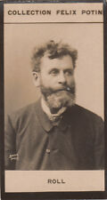 Alfred Philippe Arthur Roll Peintre Naturaliste France IMAGE CARD 1907