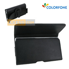 Etui Pochette Horizontal BLACK HOLDER Noir compatible MEIZU MX4