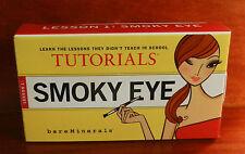 Bare Escentuals SMOKY EYE TUTORIALS LESSON 1 NEW KIT
