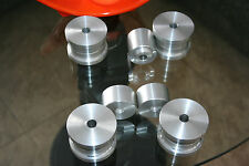 Rear subframe and differential  bushings for BMW e36 (Alluminium)