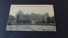CPA 50 Tocqueville - le château et l'Etang à Mr le Comte Ch de Tocqueville