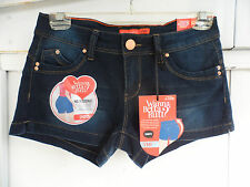 YMI Jeans Wanna Betta Butt? Juniors Dark Wash Denim Shorts Stretch Size 5 NWT