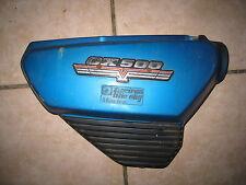 CX 500 Seitendeckel Verkleidung Seitenabdeckung Emblem Blau rechts cover side