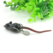 Large Soft Rubber Mouse Fishing Lures Baits Top Water Tackle Hooks Bass Bait New
