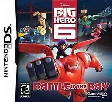 Big Hero 6 Battle in the Bay GAME Nintendo DS DSI XL LITE 3 3DS 2 2DS DISNEY