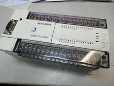MITSUBISHI MELSEC PLC - FX2N-48MR-ES/UL - 24IN 24 OUT - 100-240AC w/Ext RS232