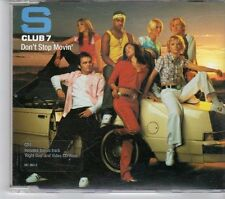 (EW539) S Club 7, Don't Stop Movin' - 2001 CD