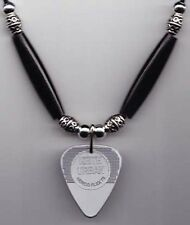 Keith Urban Silver Guitar Pick Necklace - 2009 Tour