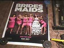 BRIDESMAIDS  ROLLED DS 27X40 ORIG MOVIE POSTER KRISTEN WIGG