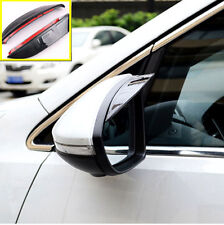 FOR 12 KIA RIO K2 PRIDE DOOR SIDE MIRROR RAIN GUARD VISOR SHIELD REAR VIEW COVER
