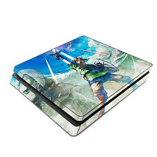 Skin Decal Cover Sticker for Sony PS4 Slim - Legend of Zelda: Skyward Sword