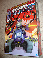 SDCC 2012 Exclusive Set GIJOE Transformers - Destro & Shockwave HISS Tank