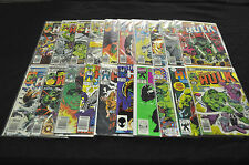 INCREDIBLE HULK #235-435 (5.0-9.2) MARVEL BRONZE-MODERN LOT 181 ISSUES TOTAL
