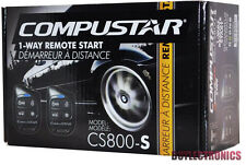 Compustar CS800-S Car Auto Remote Start Starter with Keyless Entry 1-Way NEW