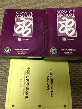 2000 Chevrolet Chevy GEO TRACKER Service Shop Repair Manual Set W TECHNICAL GUID