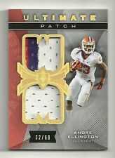 ANDRE ELLINGTON 2013 Ultimate Collection Ultimate PATCH Serial # 32 of 60