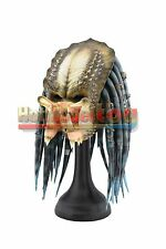 Elder Predator Helmet Costume Latex Mask Full Face Cosplay AVP Halloween replica
