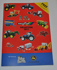NEW A5 BRITAINS CUSTOMER  FARM TOY CATALOGUE 2017 ,