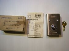 Ademco Honeywell 269 Wired Hold-up Panic Emergency Switch w/Stainless Cover