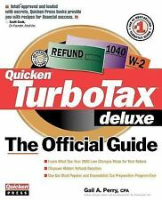 Official Guides: Turbo Tax Deluxe by Gail A. Perry (2000, Paperback)